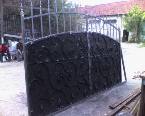 Wrought Iron Patio Doors Gates Of Wrought Iron Driveway